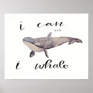 Pôster Eu podem e a baleia de I