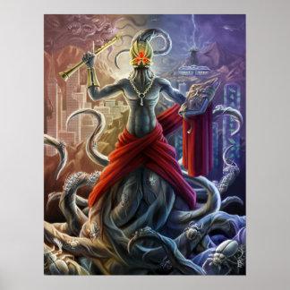 Poster Evangelho de Nyarlathotep