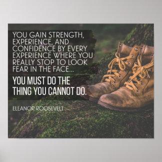 Pôster Faça as coisas que você não pode