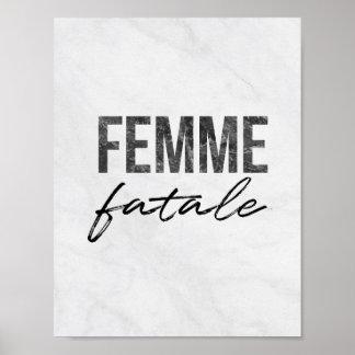 Pôster Femme Fatale