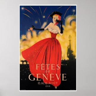 Pôster Fêtes de Genève