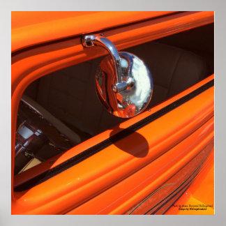 Poster Fim-Acima clássico do automóvel
