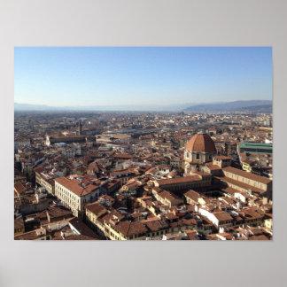 Poster Florença do domo