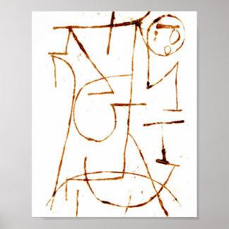 Poster Forças internas: Paul Klee 1939