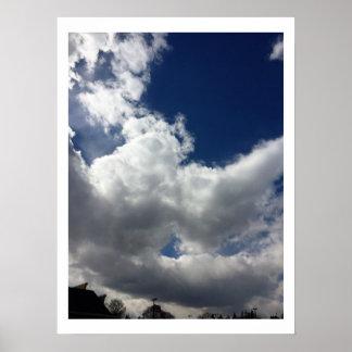 Poster Formações da nuvem