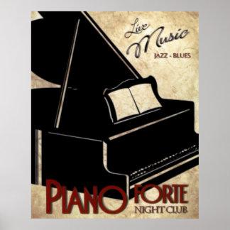 Pôster Forte do piano