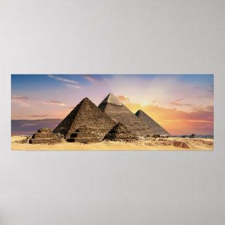 Pôster Fotografia da paisagem: Complexo Egipto da