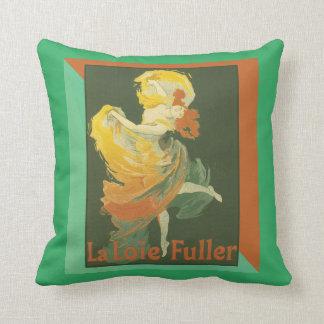 """Poster francês """"La Loie da arte do vintage mais Almofada"""