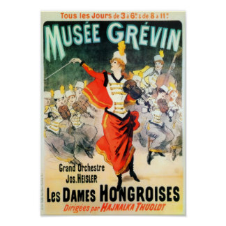 Poster Francês Musee Grevin