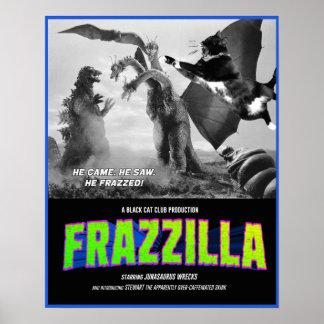 Poster Frazzilla contra o Skink Três-Dirigido! Cartaz
