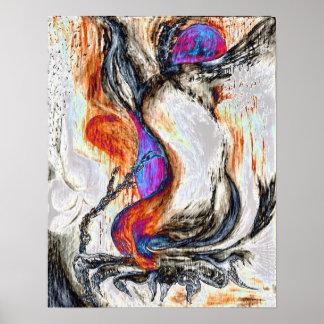 Poster Garra do dragão
