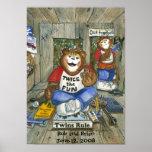 Poster gêmeo da sala dos meninos