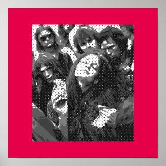 Pôster Girl' s *Hippie-Actittude*