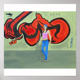 Pôster grafites urbanos