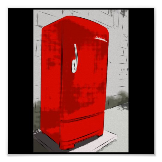 Pôster Grandma's Refrigerator