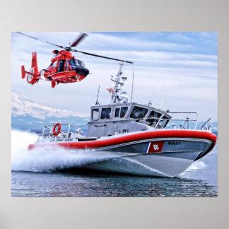 Pôster Guarda costeira na ação II