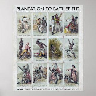 Poster GUERRA CIVIL: da plantação ao campo de batalha