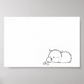Poster Hamster