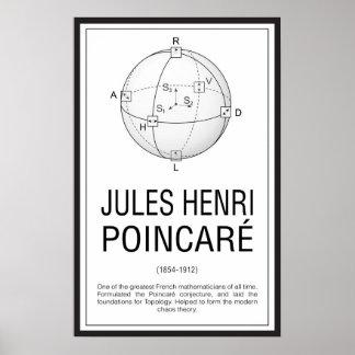 Pôster Henri Poincaré