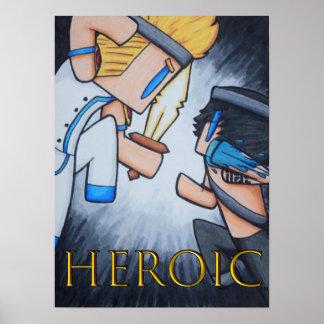 Poster HERÓICO (a batalha começa)