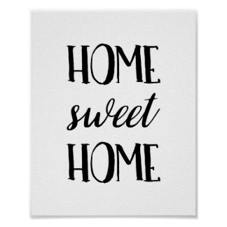 Poster Home doce Home