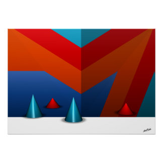 """Poster HotAirBalloon (1), 28"""" x20"""", ValuePosterPaper"""