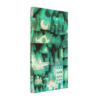 Poster ideal das canvas da cidade de Paul Klee