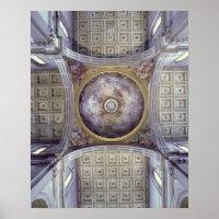Ideia do interior da cúpula, construído em 1425 -
