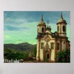Pôster Igreja São Francisco de Assis, Ouro Preto, Brasil