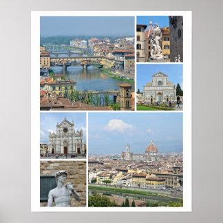 Poster Imagens de Florença