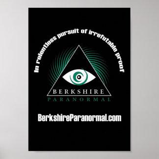 """Poster """"implacável"""" Paranormal do grupo de Berkshi Pôster"""