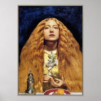 Poster/impressão:  A dama de honra