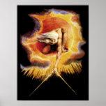 Poster/impressão: Antigo do ~ William Blake dos di