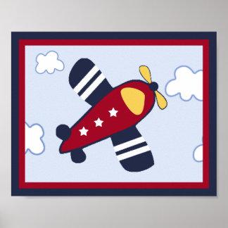Poster/impressão do avião do veículo de socorro #4