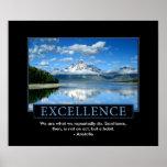 Poster inspirado da excelência