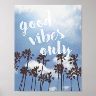 Poster inspirado das citações da boa praia das
