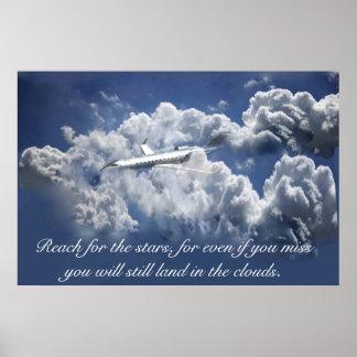 Poster inspirado do avião