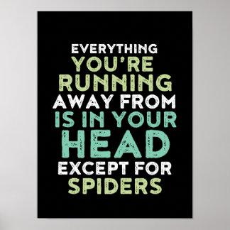 Poster inspirado e inspirador engraçado das pôster