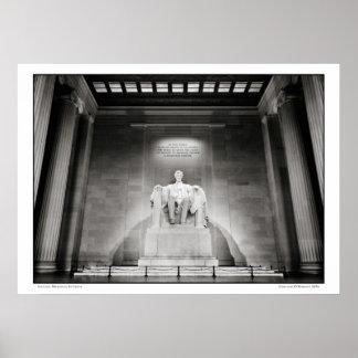 Pôster Interior do Memorial de Lincoln