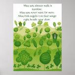 Poster irlandês da bênção