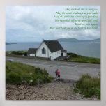 Poster irlandês da bênção - Kerry do condado