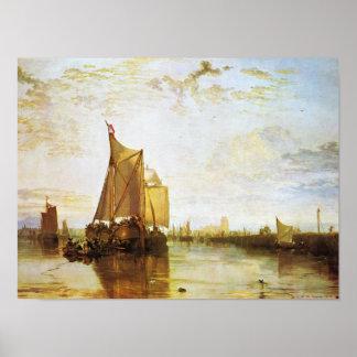 Poster J.M.W. Turner - o Dort 1818