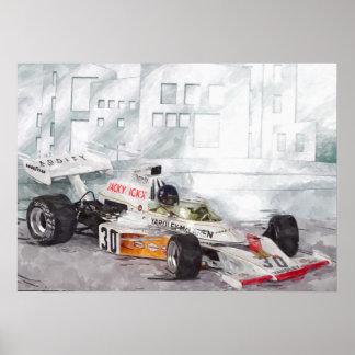 Pôster Jacky's M23 - Artwork Louis Glineur