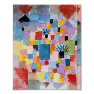 Poster Jardins do sul: Paul Klee 1919