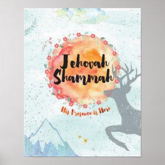 Poster Jehovah Shammah