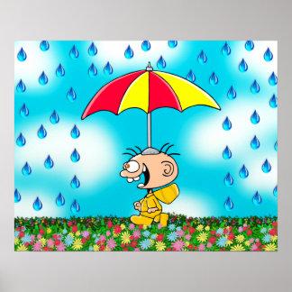 "Poster Jimmy - ""andando na chuva """