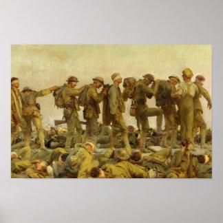 Poster John Singer Sargent - intoxicado