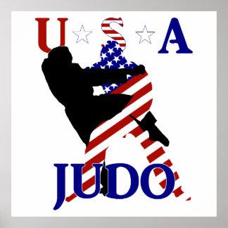 Pôster Judo dos EUA