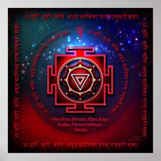 Poster Kali Yantra
