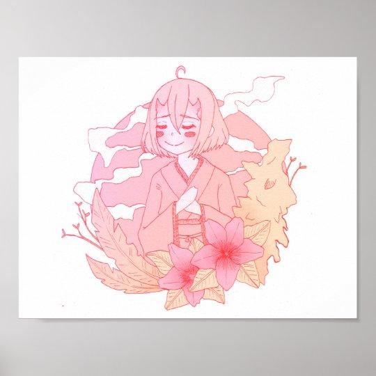 Poster Kimono Demon